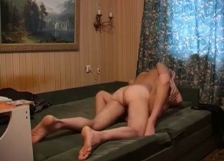 Passionate blonde bangs with her stepfather
