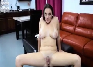 Elegant incest with sister ends with a vaginal creampie