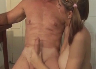 Hardcore incest with an erotic niece