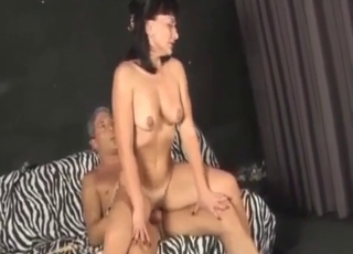 Perfect aunt adores her first incest action